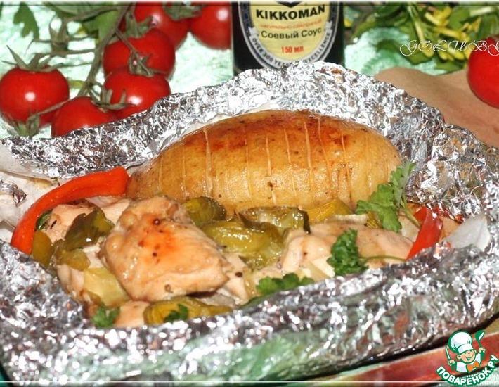 Рецепт: Мясо по-гречески Клефтико