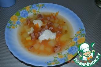 Рецепт: Суп Московский