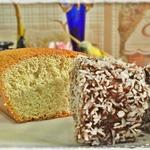 Пирожные из классического бисквита