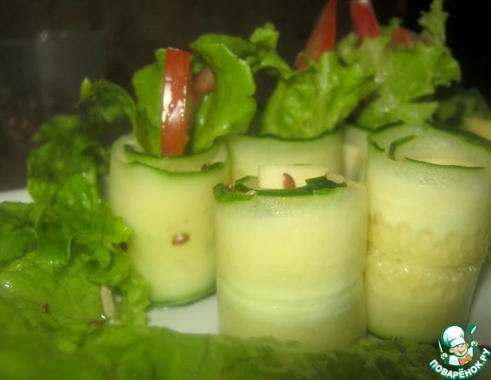 Рецепт: Лёгкий салат к шашлыку Бриз уик-энда