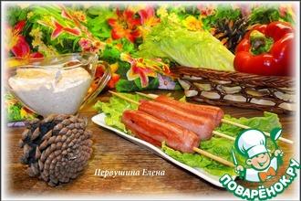 Рецепт: Сосиски-гриль и острый сметанный соус
