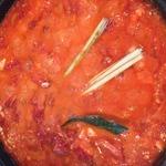 Креветки по-критски с томатами и сыром