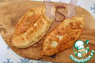 """Рецепт: Тонкие пирожки с картофелем """"Крестьянские"""""""