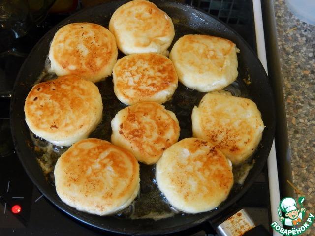 рецепт сырников из творога фото на поваренок