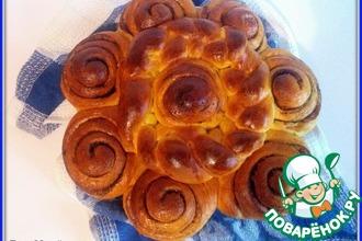 Рецепт: Тыквенный постный пирог