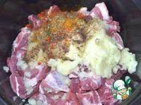 Шашлык в духовке на луковой подушке ингредиенты
