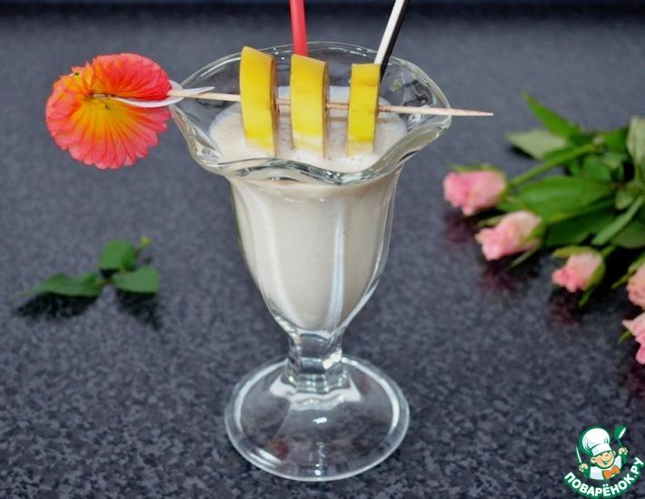 Рецепт: Безалкогольный молочный коктейль