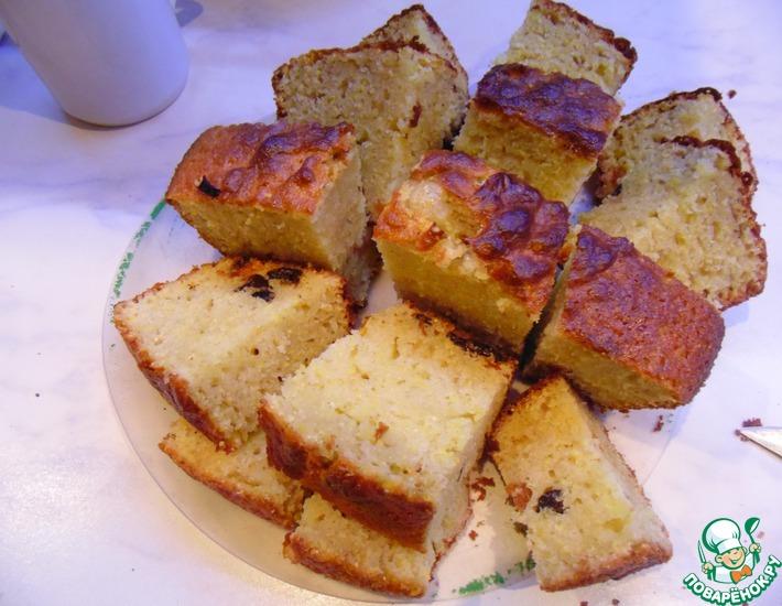 Рецепт: Пирог кукурузный Без заморочек