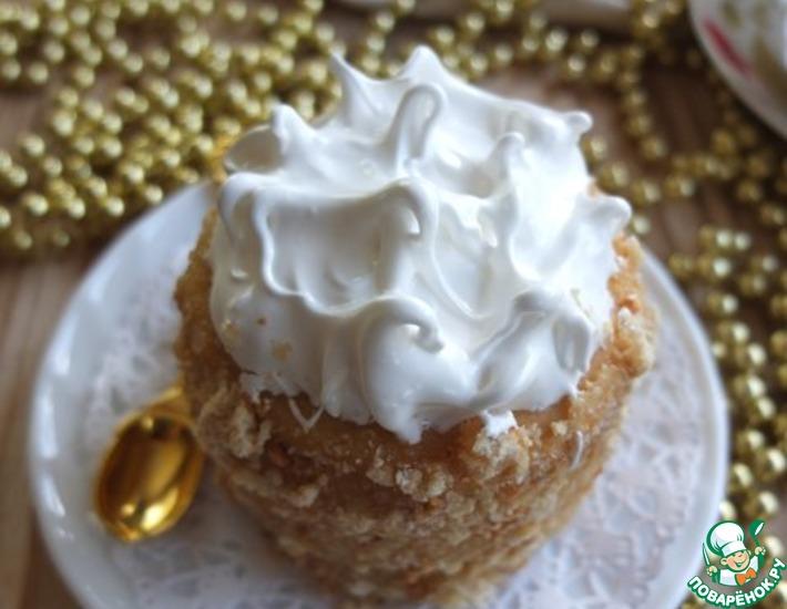 Рецепт: Пирожные Наполеон