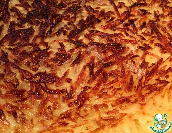 Рецепт: Картофельный гарнир по-швейцарски Рошти
