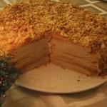 Мамин торт Наполеон
