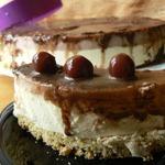 Торт Птичье молоко под вишневым суфле