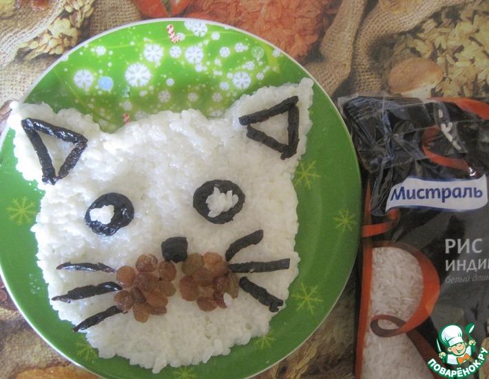 Рецепт: Рисовая каша с изюмом и черносливом