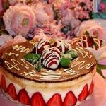 Бисквитный торт Фрезье