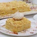 Сливочный торт Наполеон