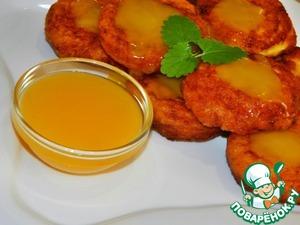 Рецепт Оранжевые сырники с апельсиновым соусом