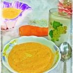 Рисовая кашка с морковкой