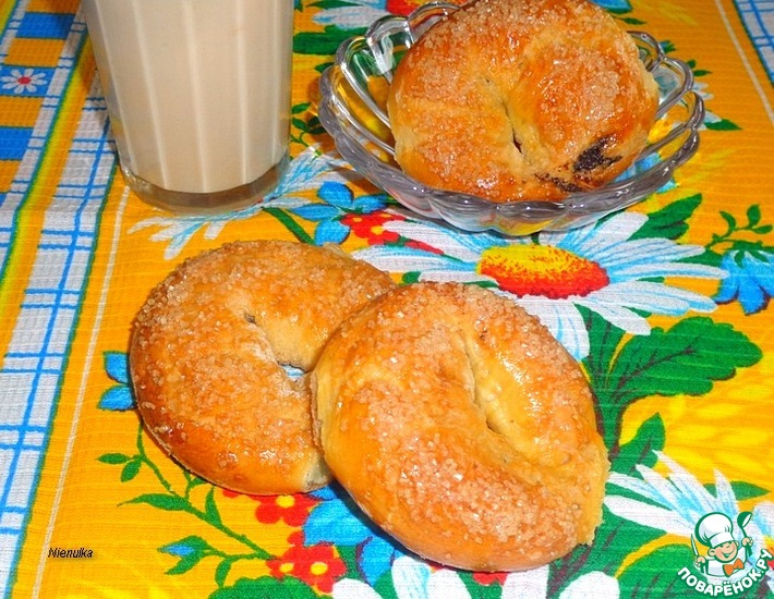 Рецепт: Пончики с маковой начинкой