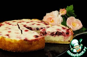 Рецепт Царская ватрушка с ягодами