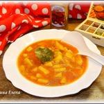 Суп А-ля Харчо с васаби