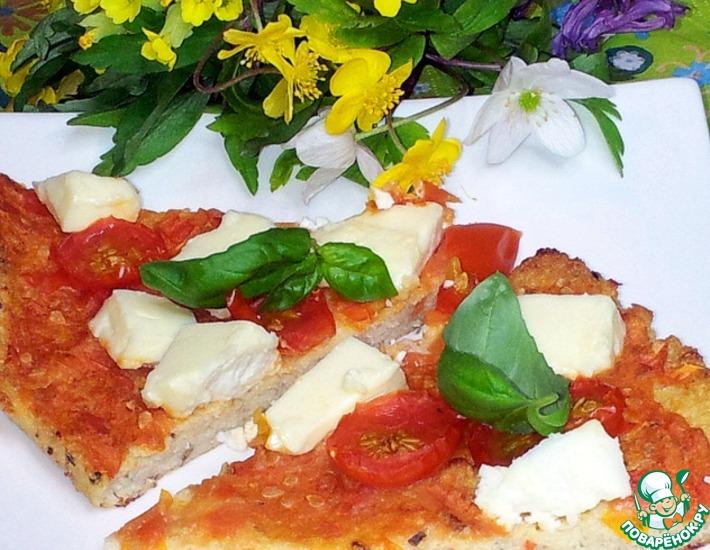 Рецепт: Пицца из цветной капусты