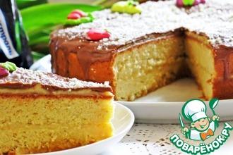 Рецепт: Бисквит для тортов от Валентино Бонтемпи
