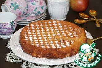 Рецепт: Грушевый кекс с шафраном