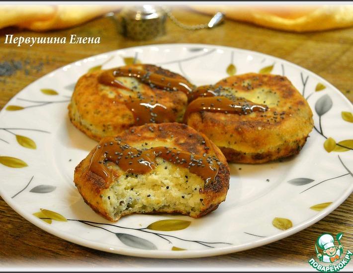 Рецепт: Сырники мятные с маком