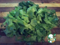 Турецкий салат из булгура Кысыр ингредиенты