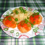 Рыбно-рисовые тефтели Ёжики в томате