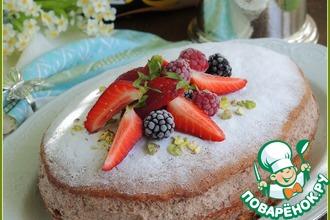 Рецепт: Торт бисквитный Риго Янши