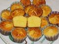 маффины с апельсином и белым шоколадом