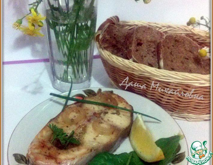 Рецепт: Пангасиус запеченный