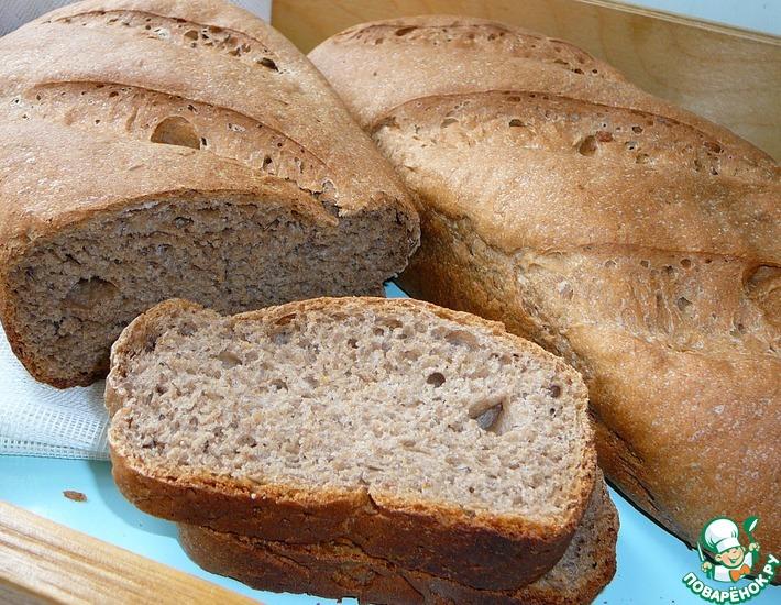 Рецепт: Сливочно-ржаной хлеб
