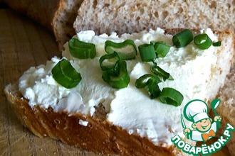 Рецепт: Хлеб пшеничный цельнозерновой на сыворотке
