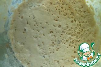 Рецепт: Пшеничная закваска на изюме