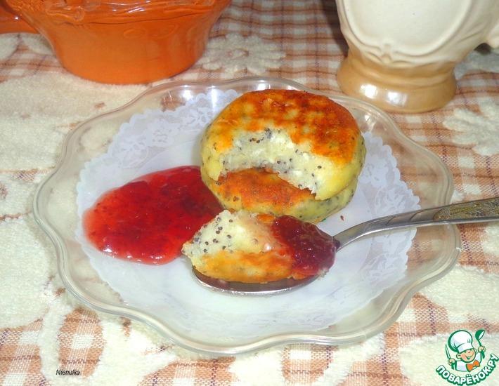 Рецепт: Ванильно-маковые сырники