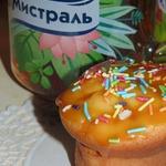 Простые творожные кексы