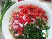 Теплый салат из перловки ингредиенты