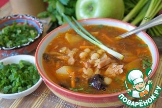 Рецепт: Суп гороховый Ереванский