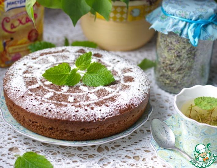 Рецепт: Шоколадный бисквит на горячем молоке
