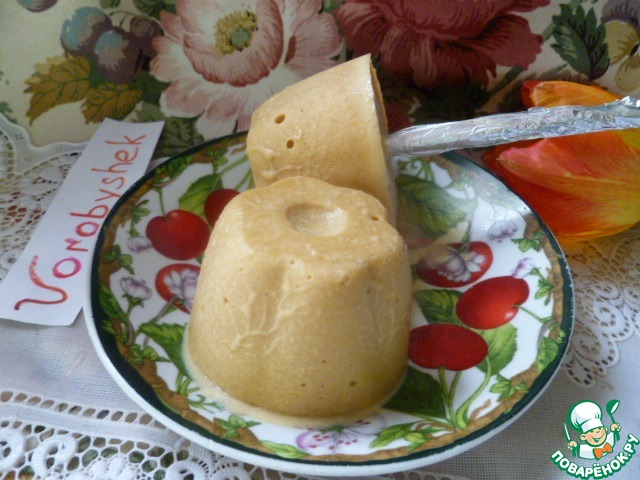 Домашнее молочное мороженое на палочке