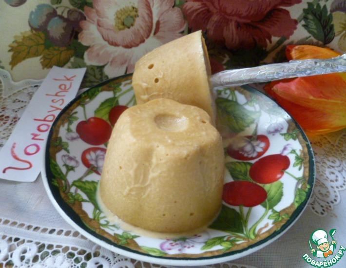 Рецепт: Домашнее молочное мороженое на палочке