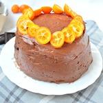 Торт Наполеон-апельсин и шоколад