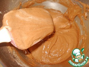 Шоколадный бисквит на горячем молоке Молоко