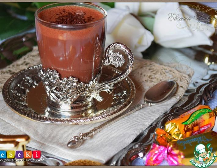 Рецепт: Зефирный горячий шоколад по-австрийски