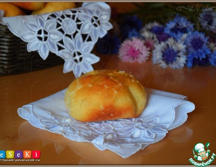 Рецепт: Ароматные чесночные булочки