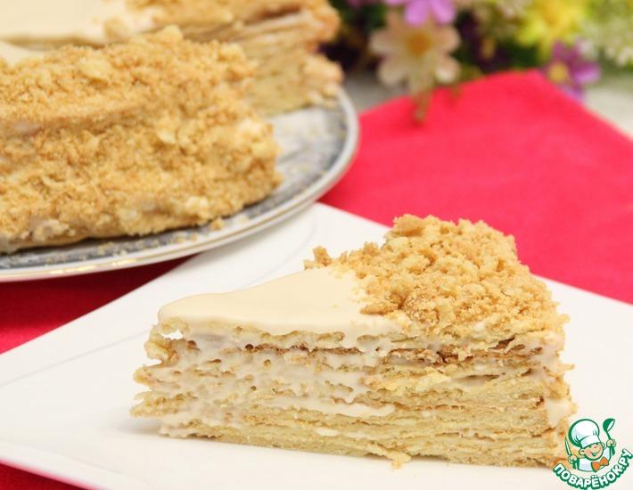 Рецепт: Торт Наполеон по старинному рецепту