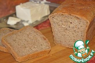 Рецепт: Хлеб из полбяной муки