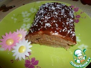 Рецепт Рулет с фруктами из компота